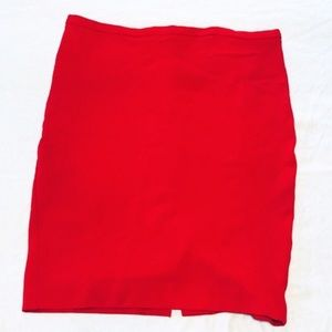 Victoria's Secret Cherry Red Pencil Skirt Size 14